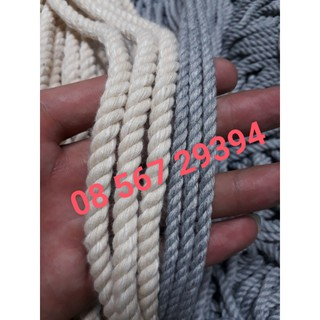 Dây thừng cotton macrame size 4mm