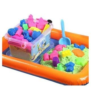 Bộ đồ chơi đất nặn cho bé/ Cát sinh học/ Cát vi sinh