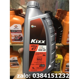 [FREE SHIP] Nhớt Kixx 10W40 Fully Synthentic tổng hợp hoàn toàn chai 1L nhập khẩu Hàn Quốc