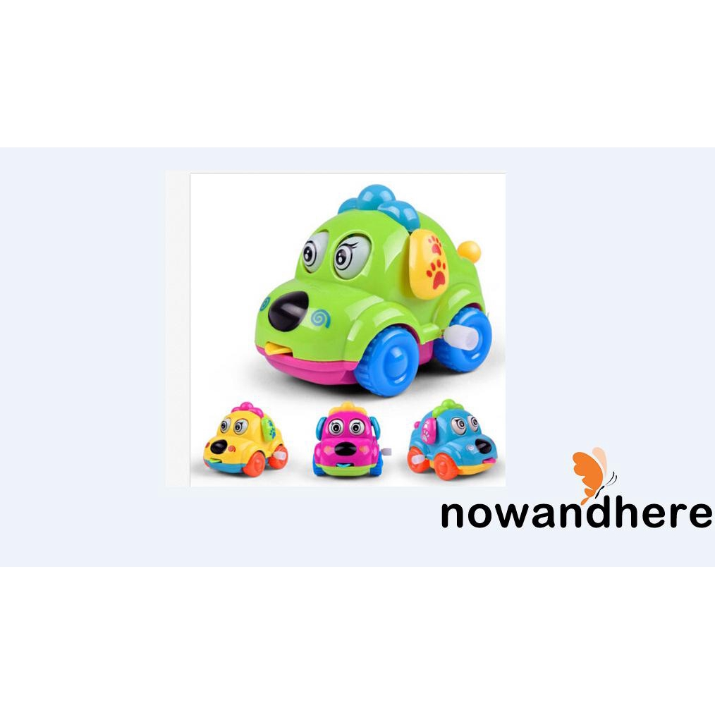 RNE-1 pc Mini Car Baby Toddlers Kids Clockwork Educational Toys Learning Funny