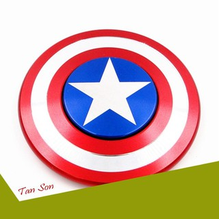 [ƯU ĐÃI LỚN] Con quay Fidget Spinner Captain American cho bé cực chất siêu bền