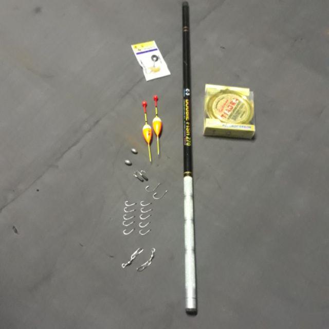 Bộ cần câu tay rút dài 2m7và 100m cước kèm phụ kiện - 3501361 , 840665598 , 322_840665598 , 120000 , Bo-can-cau-tay-rut-dai-2m7va-100m-cuoc-kem-phu-kien-322_840665598 , shopee.vn , Bộ cần câu tay rút dài 2m7và 100m cước kèm phụ kiện