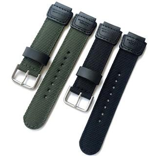 Dây vải dù cho đồng hồ AE1200 / AE-1000W / SGW-300 / 400H và các đồng hồ khác dùng dây size 18mm - D2103