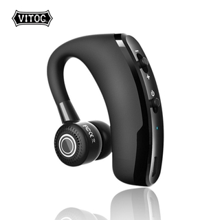 Tai nghe Bluetooth kết nối không dây Vitog đeo một bên tai kiểu dáng công sở