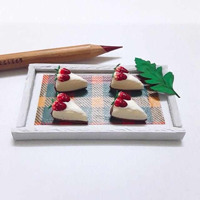 Minifood-bánh cream cheese