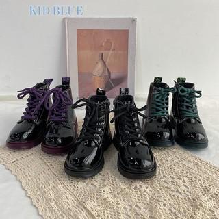 Giày bốt cổ cao phong cách Hàn Quốc hợp thời trang cho bé gái