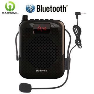Thiết bị loa Basspal K500 khuếch đại âm thanh Bluetooth USB phù hợp cho dạy học/bán hàng
