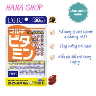 Viên uống DHC Nhật Bản Multi Vitamin Tổng Hợp bổ sung 11 loại Vitamin & khoáng chất tăng cường sức khoẻ
