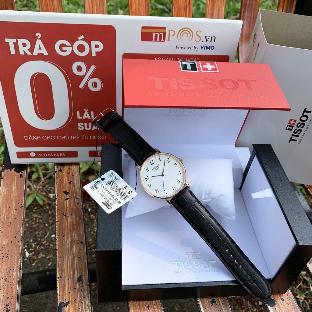Đồng hồ nam Tissot Everytime Large Silver  -  T109.610.36.032.00 -   Men's Watch - Quartz - Kính Sapphire [ Chính hãng]