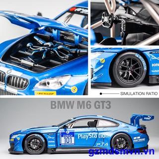 BMW Mô Hình Đồ Chơi Xe Ô Tô Bmw M6 Gt3 Với Tỷ Lệ 1: 24
