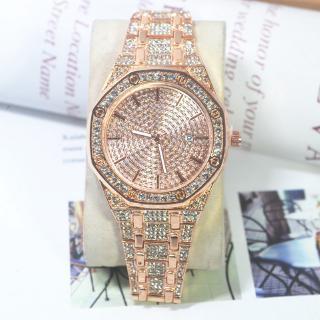 Đồng hồ thạch anh đính kim cương nhân tạo chất lượng cao thời trang cho nữ
