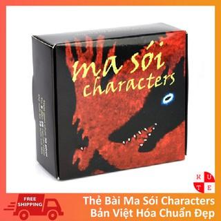 Bài Ma Sói Characters Việt Hóa