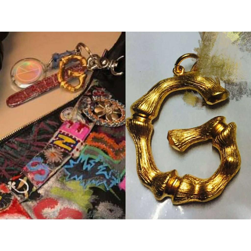 Móc GD BIGBANG peaceminusone chữ G mạ vàng