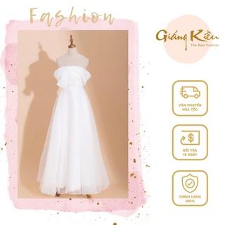 Đầm cưới thiết kế Giáng Kiều, mẫu đầm cưới trễ vai liền thân, váy dự tiệc chất lụa tôn dáng sang trọng - DC0409 thumbnail