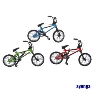 Mini Finger Mountain BikesToys Alloy Bicycle Creative Game Gift for Children