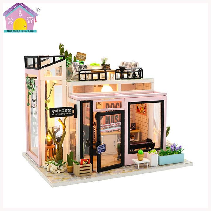 Mô Hình Nhà Gỗ DIY Rika Studio