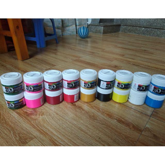 Màu vẽ 3D 100ml acrylic