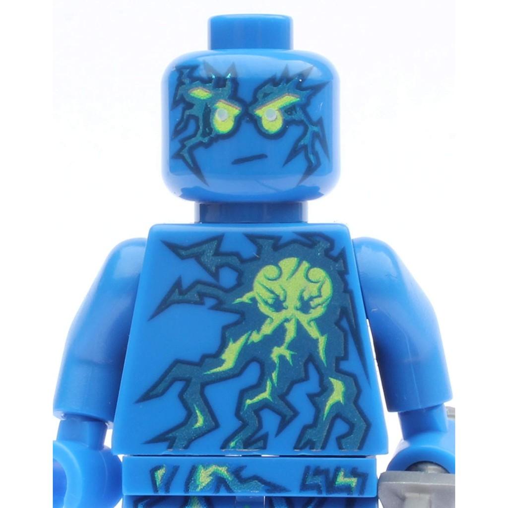 LEGO Ninjago Minifigures NRG Jay (Ninja Xanh Lam)