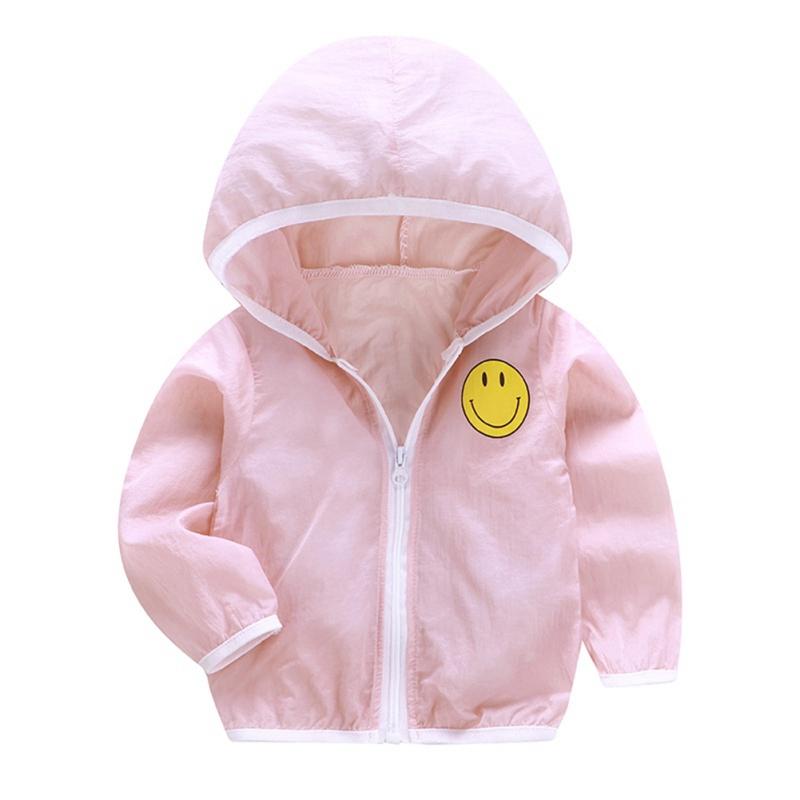 Áo khoác chống nắng in họa tiết hoạt hình cho trẻ