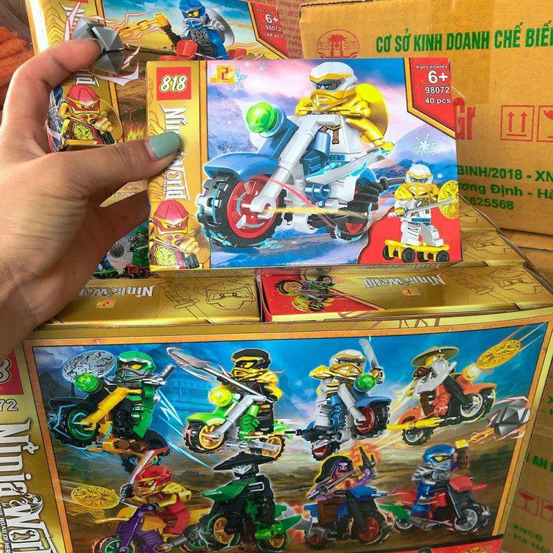 16 hộp lego nijnago nhiều mẫu kèm bản hướng dẫn chi tiết ( sỉ đồ trẻ em)