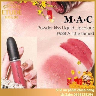 Son MAC POWDER KISS LIQUID LIPCOLOUR 5ml ( HOT NEW 2020 ) full box chính hãng.