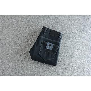 Plus velvet denim! Shopkeeper recommended jeans men's jeans wild men's pants KZ2