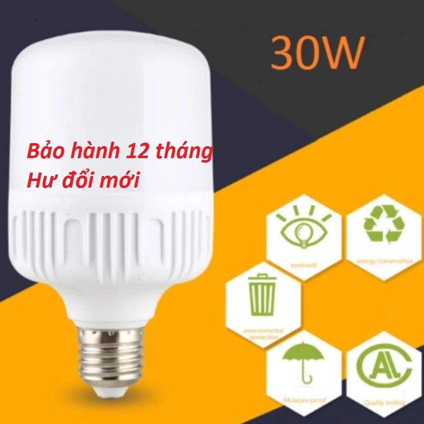 Bóng đèn Led 30W cao cấp-siêu tiết kiệm ánh sáng Trắng