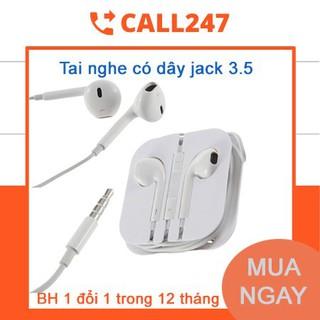 [Tặng 1 Khẩu Trang ] Tai Nghe Có Dây Jack 3.5mm Cho Điện Thoại, Máy Tính Bảng , Tai Nghe Chơi Game