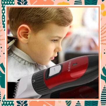 (SALE CỰC HOT)Tông đơ cắt tóc trẻ em kemei- dụng cụ cắt tóc