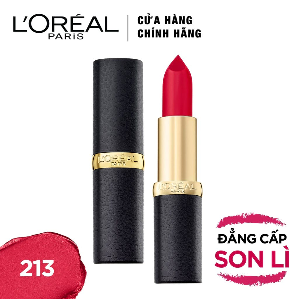 Son lì mịn môi L'Oreal Paris Color Riche Matte 3.7g (Hot)