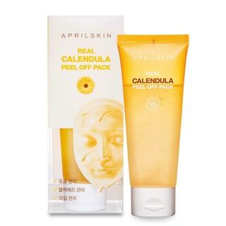 Mặt nạ lột tẩy tế bào da chết Aprilskin Real Calendula Peel Off Pack 100g thumbnail