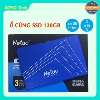 SSD Netac 120GB SATA 3 Chính Hãng bảo hành 36 tháng