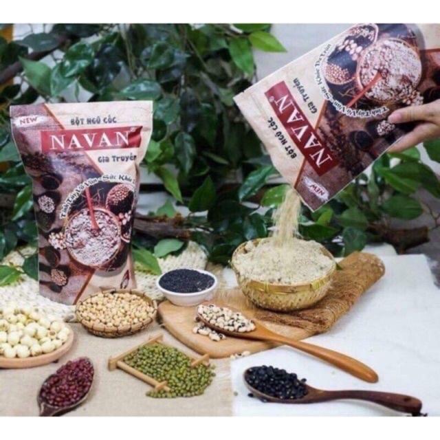 [Mã GROSALEHOT giảm 8% đơn 250K] ❤️FREESHIP❤️ GIÁ SOCK - Bột ngũ cốc navan gia truyền 7 vị 800gr date luôn mới