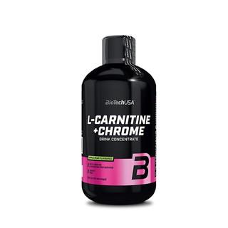 Thực Phẩm Bổ Sung Đốt Mỡ L-CARNITINE + CHROME BiotechUSA thumbnail