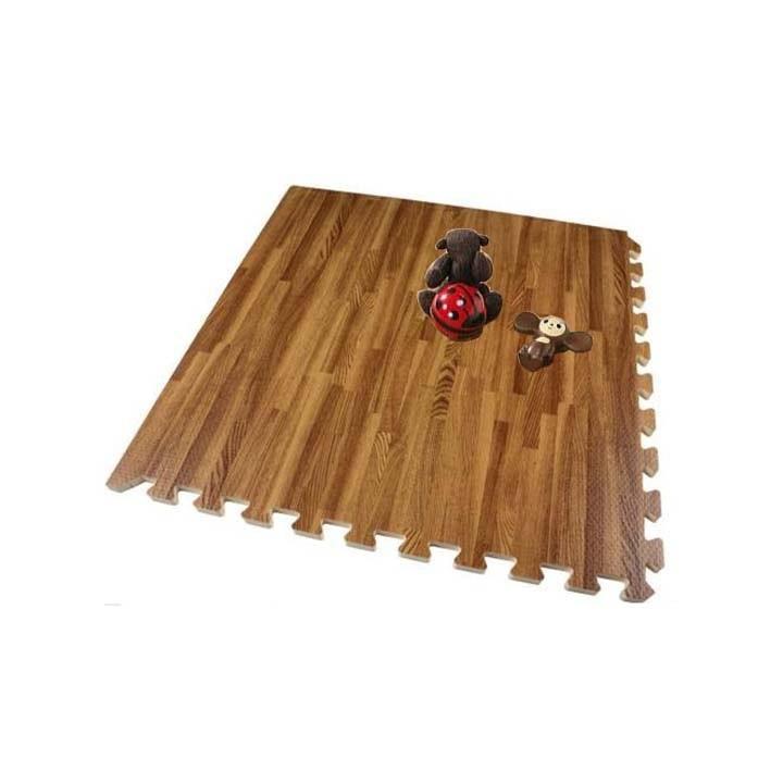 thảm xốp lót sàn vân gỗ
