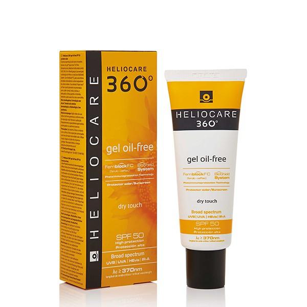 [Hàng mới về] Gel chống nắng Heliocare 360° không dầu SPF50 50ml
