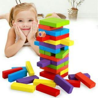 HCM – Bộ đồ chơi rút gỗ màu galahet shop