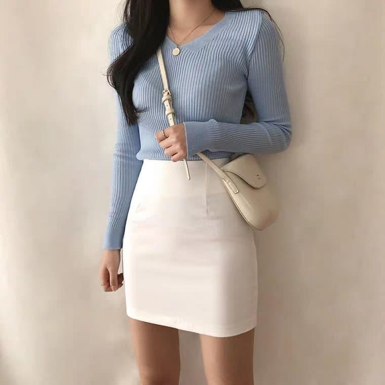 Chân váy ngắn phong cách Hàn Quốc trẻ trung dành cho nữ