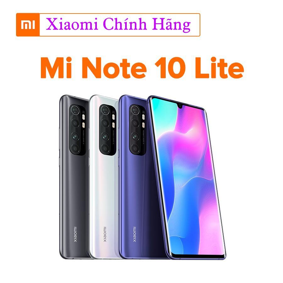 Điện thoại Xiaomi Mi Note 10 Lite - Hàng Chính Hãng - Bảo Hành 18 Tháng