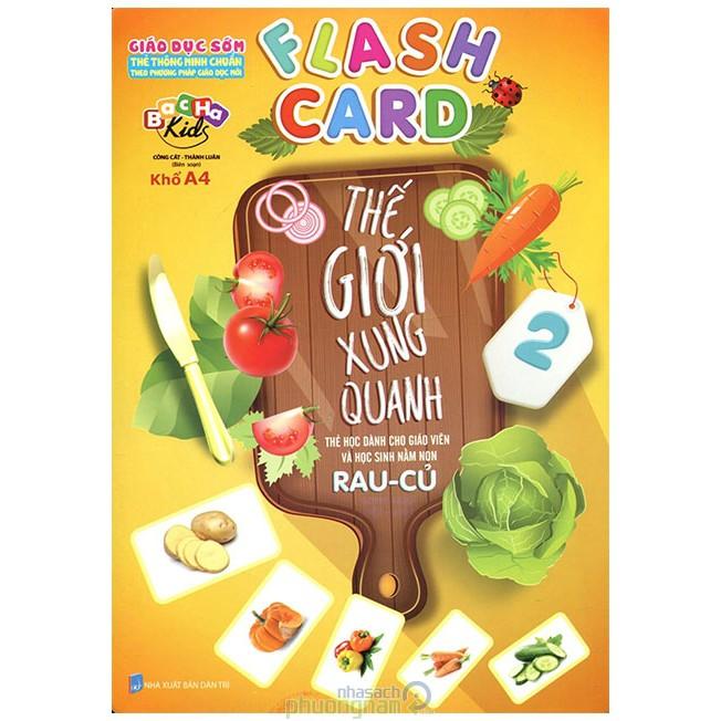 Flash card Thế Giới Xung Quanh 2
