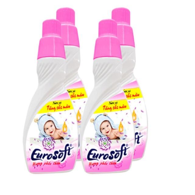 Combo 4 chai nước xả vải baby hương phấn thơm Eurosoft 420ml - 2542586 , 410760343 , 322_410760343 , 180000 , Combo-4-chai-nuoc-xa-vai-baby-huong-phan-thom-Eurosoft-420ml-322_410760343 , shopee.vn , Combo 4 chai nước xả vải baby hương phấn thơm Eurosoft 420ml