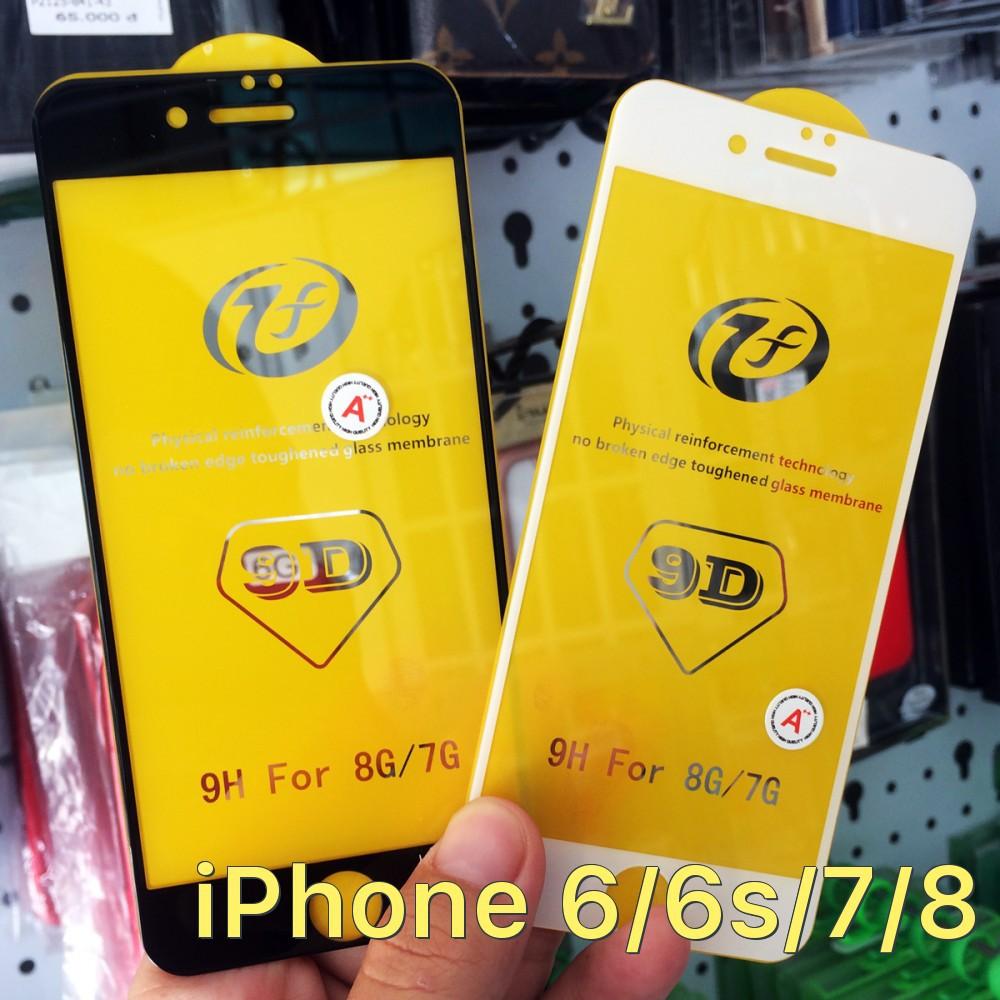 Kính cường lực 9D full màn hình siêu mỏng cho iPhone 6/6s/7/8 - 2849351 , 1187546311 , 322_1187546311 , 101000 , Kinh-cuong-luc-9D-full-man-hinh-sieu-mong-cho-iPhone-6-6s-7-8-322_1187546311 , shopee.vn , Kính cường lực 9D full màn hình siêu mỏng cho iPhone 6/6s/7/8