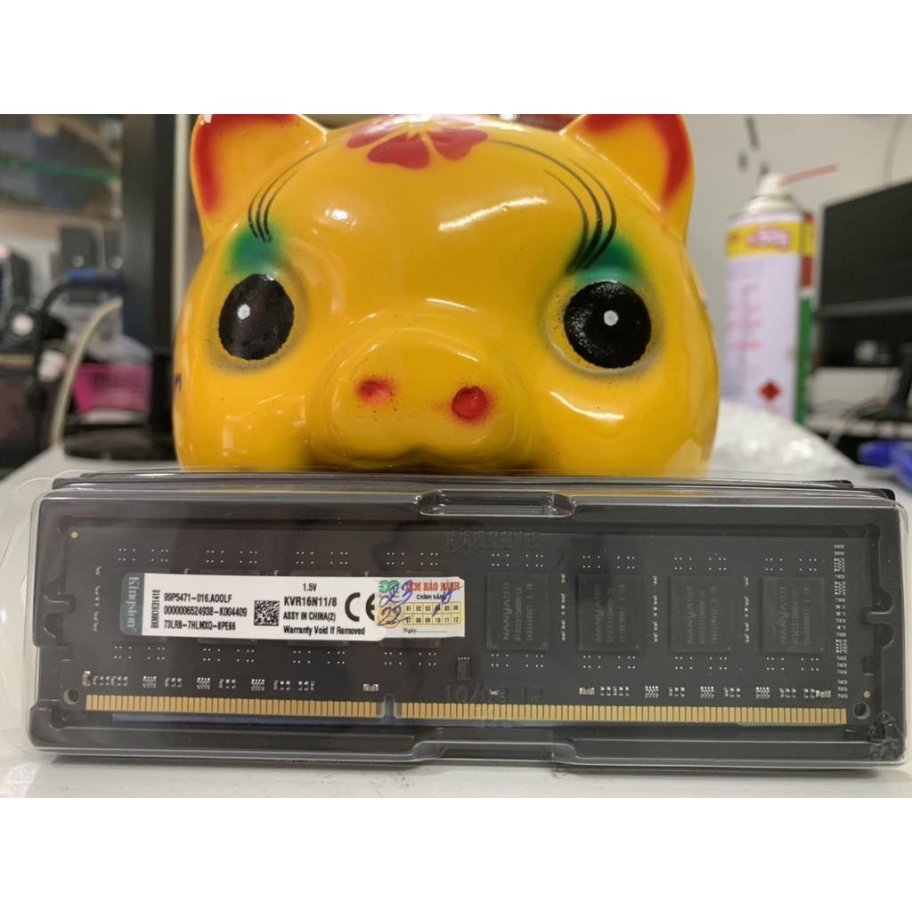 Ram máy tính Kingston DDR3 8gb bus 1600 Mhz.Bảo hành 36 tháng