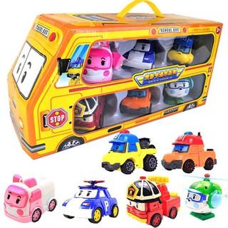 Biệt đội cứu hộ robocar poli 6 nhân vật biên hình thành 12 nhân vật