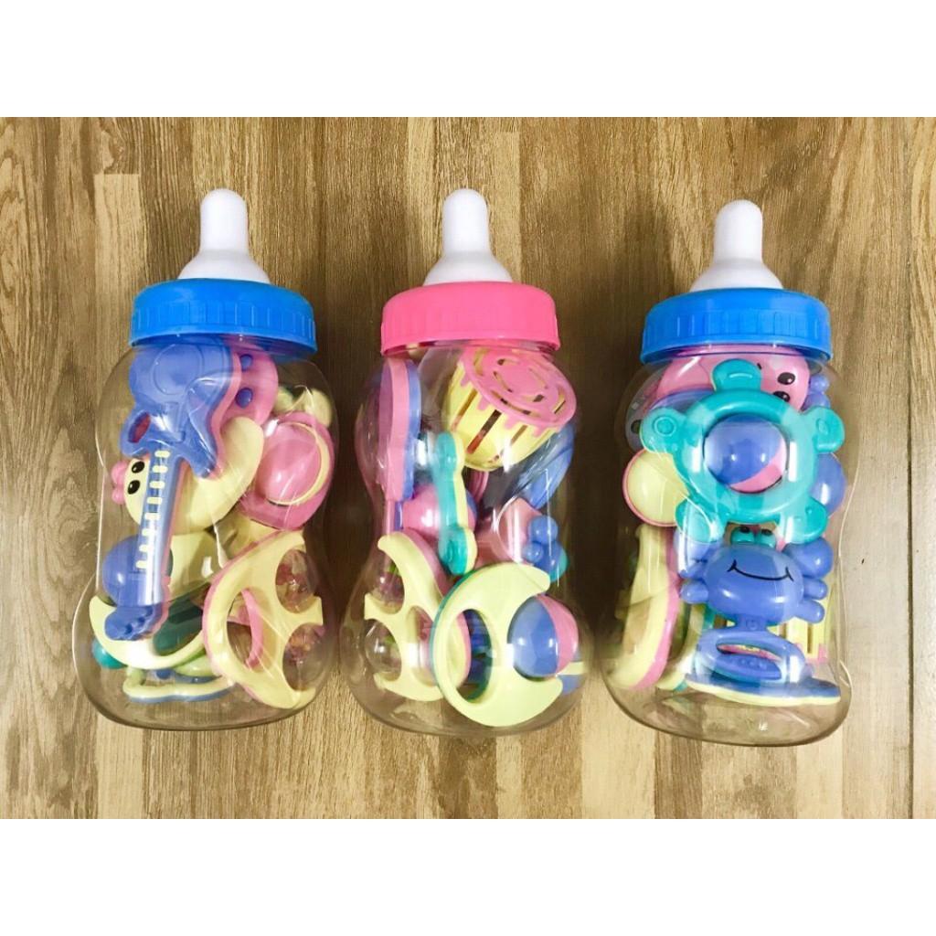 Combo 4 Bộ đồ chơi 9 chi tiết hình bình sữa cho trẻ sơ sinh đên 3 tháng tuổi - 3532785 , 1009642521 , 322_1009642521 , 888000 , Combo-4-Bo-do-choi-9-chi-tiet-hinh-binh-sua-cho-tre-so-sinh-den-3-thang-tuoi-322_1009642521 , shopee.vn , Combo 4 Bộ đồ chơi 9 chi tiết hình bình sữa cho trẻ sơ sinh đên 3 tháng tuổi