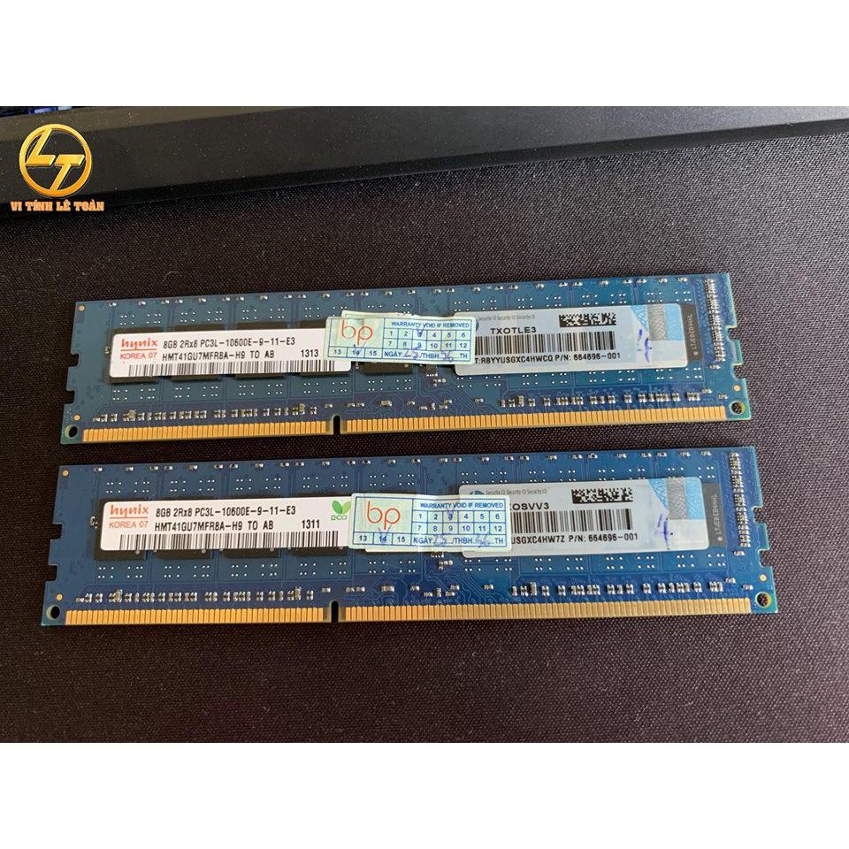 [Nhập ELCLMAY hoàn 30K xu đơn từ 200K]Ram Server HP DDR3 PC3L 8GB BUSS 1333mhz Giá chỉ 750.000₫