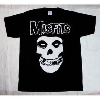 Áo Thun Nam In Hình Đầu Lâu Misfits Phong Cách Punk Goth S 2 2020