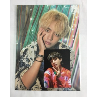 Set Taehyung official ( card bomb,miniposter )
