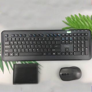 Bộ Bàn Phím Chuột Không Dây Fuhlen MK880 – Bàn phím loại tốt, bền đẹp
