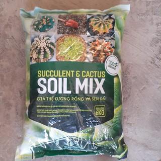 1 kg Giá thể trồng xương rồng, giá thể trồng sen đá Soid MIX ( Mùn hữu cơ có độ ẩm)